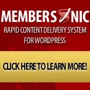 Membership Site Plugin MemberSonic